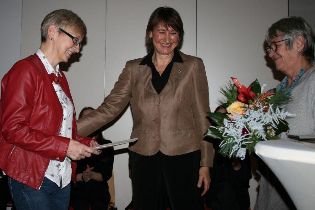 Auszeichnung Marina Wulff