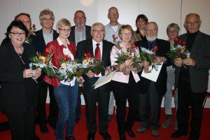 Zehn Bürgerinnen und Bürger wurden geehrt für ihr Engagement